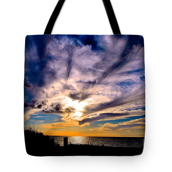 And Then There Was God Tote Bag by Margie Amberge