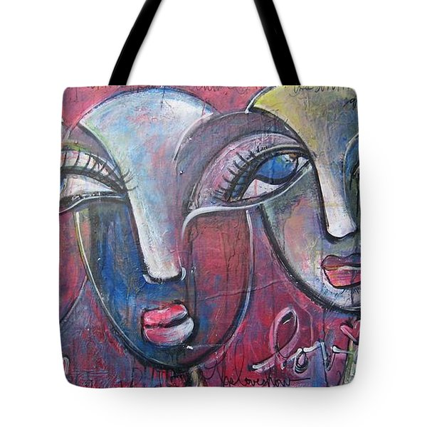 And Then There Were Three Tote Bag