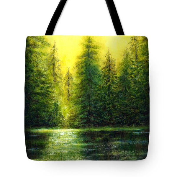 ...and There Was Morning Tote Bag