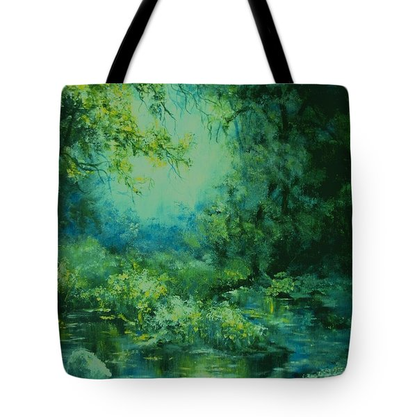 And Time Stood Still Tote Bag by Mary Wolf