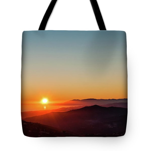 Andalucian Sunset Tote Bag