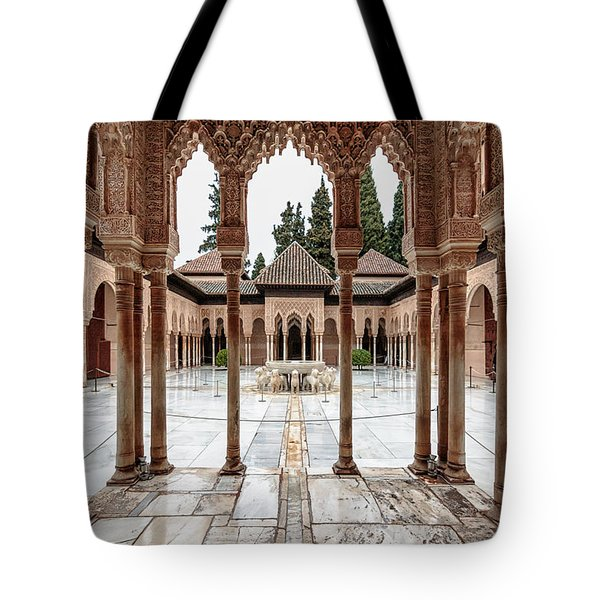 Andalusia Castle Tote Bag