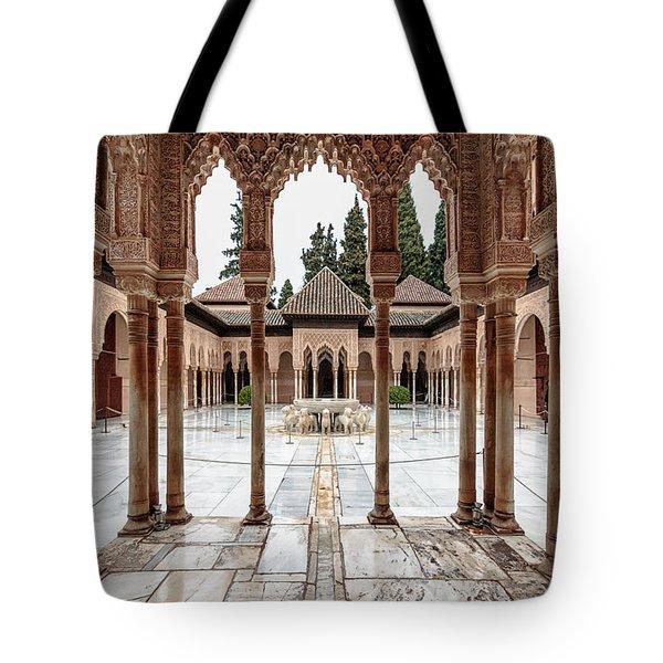Andalusia Castle Tote Bag