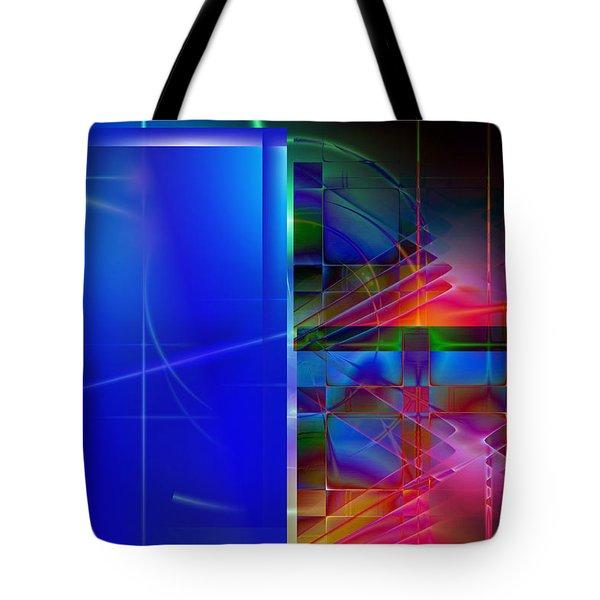 Tote Bag featuring the digital art Andante by Art Di