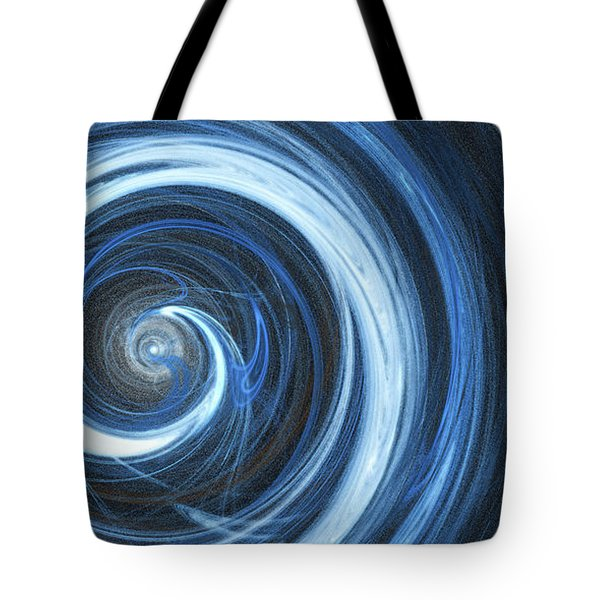 Tote Bag featuring the digital art Andee Design Abstract 11 2017 by Andee Design