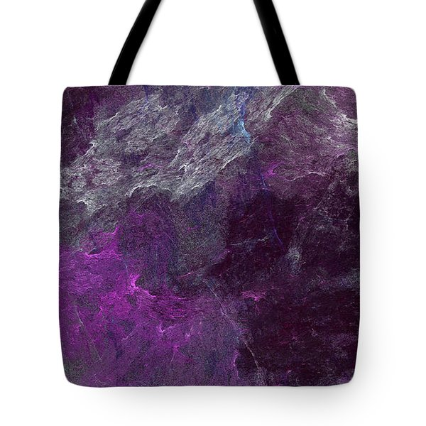 Tote Bag featuring the digital art Andee Design Abstract 13 2017 by Andee Design