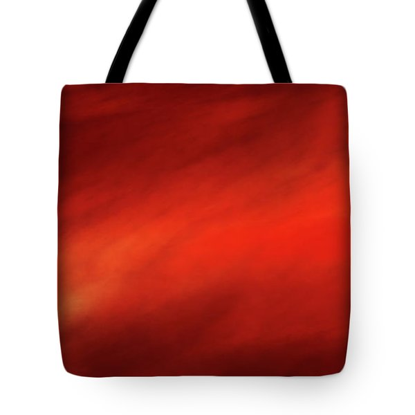 Tote Bag featuring the digital art Andee Design Abstract 14 2017 by Andee Design