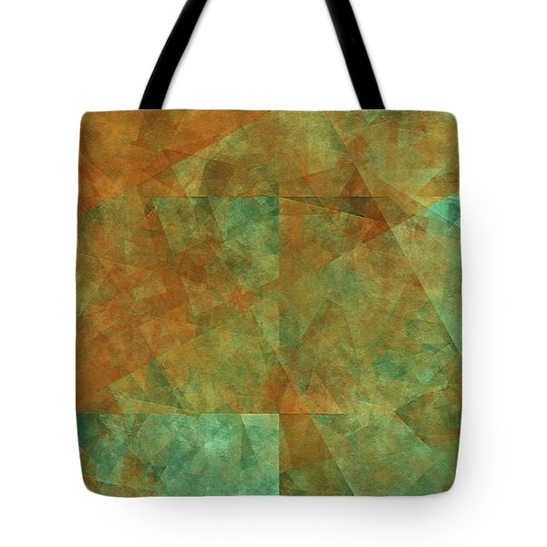 Tote Bag featuring the digital art Andee Design Abstract 16 2017 by Andee Design