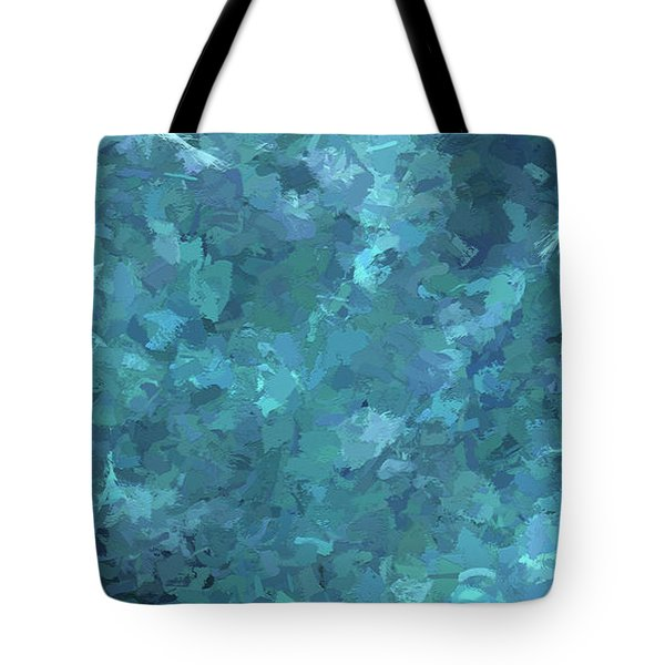 Tote Bag featuring the digital art Andee Design Abstract 20 2017 by Andee Design
