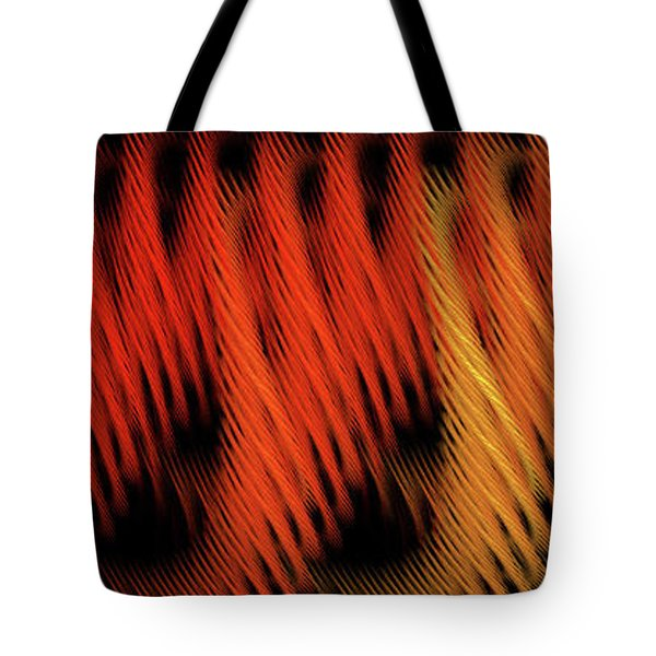 Tote Bag featuring the digital art Andee Design Abstract 22 2017 by Andee Design