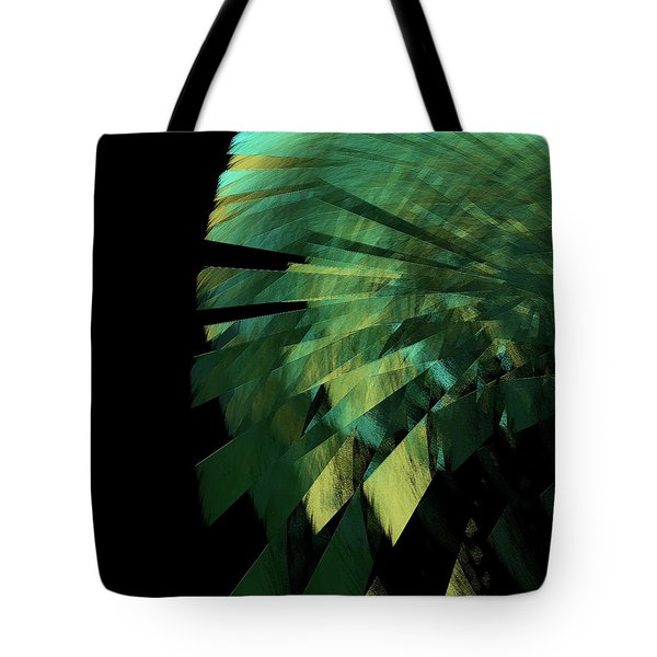 Tote Bag featuring the digital art Andee Design Abstract 25 2017 by Andee Design
