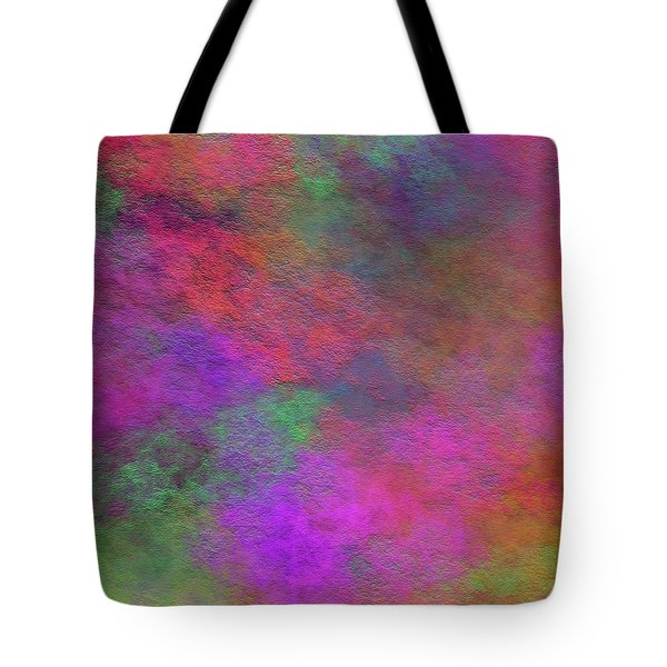 Tote Bag featuring the digital art Andee Design Abstract 37 2017 by Andee Design