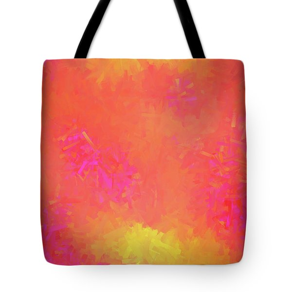 Tote Bag featuring the digital art Andee Design Abstract 5 2018 by Andee Design