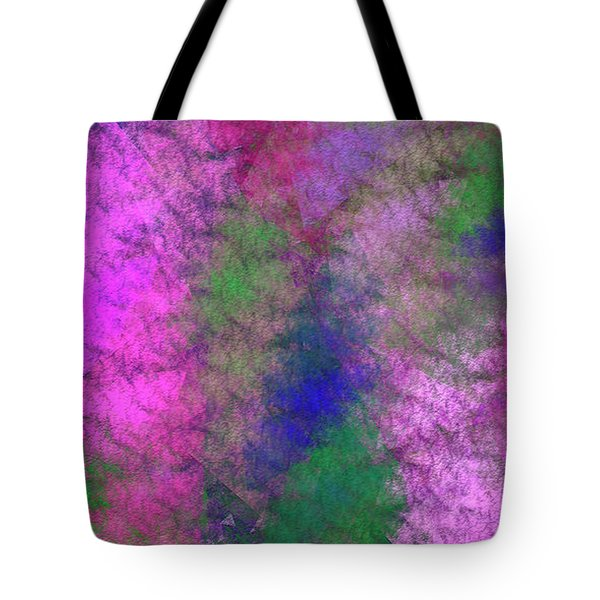 Tote Bag featuring the digital art Andee Design Abstract 7 2018 by Andee Design