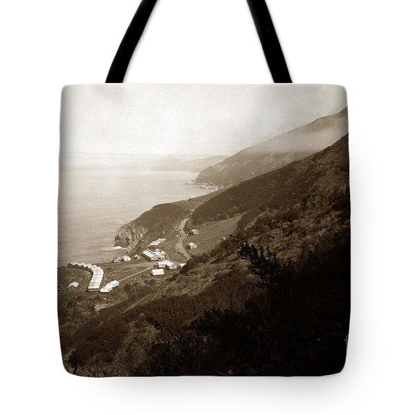 Anderson Creek Labor Camp Big Sur April 3 1931 Tote Bag