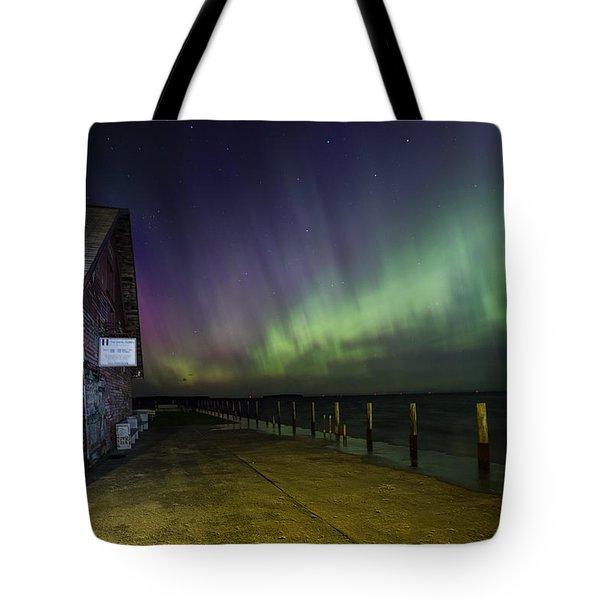 Anderson Dock Aurora Tote Bag