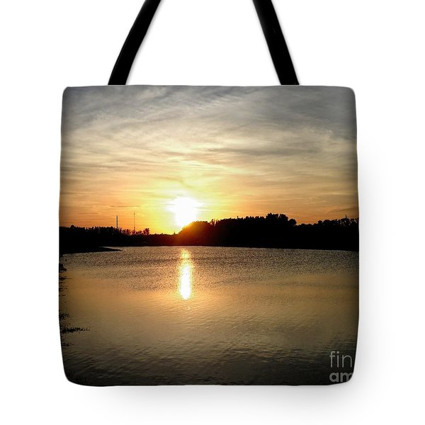 Anderson Stormwater Park In Rockledge Florida Tote Bag