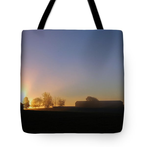 Anderson Sunrise Tote Bag