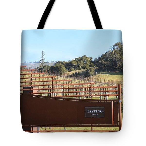 Anderson Valley Vineyard Tote Bag