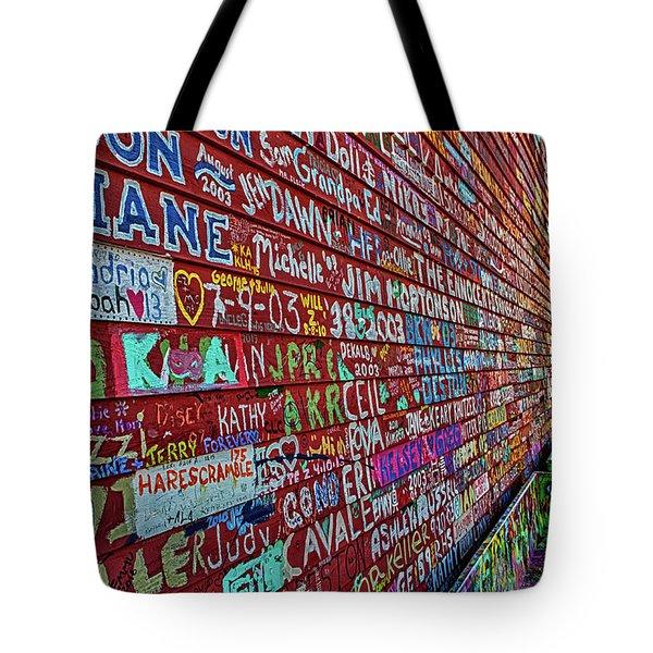 Anderson Warehouse Graffiti  Tote Bag