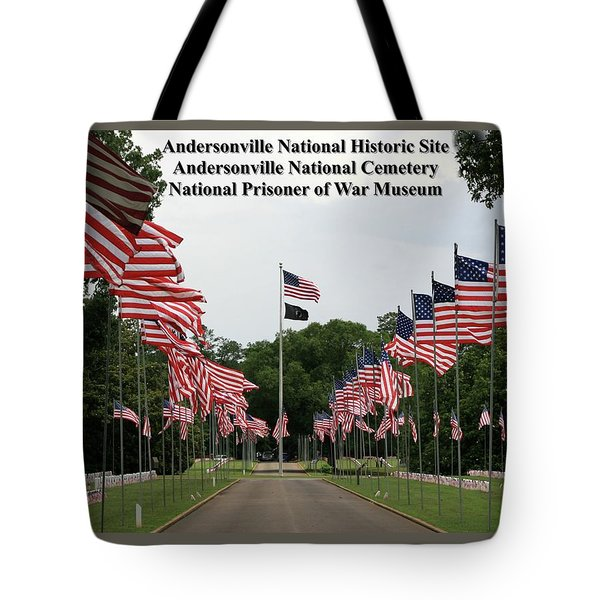 Andersonville National Park Tote Bag