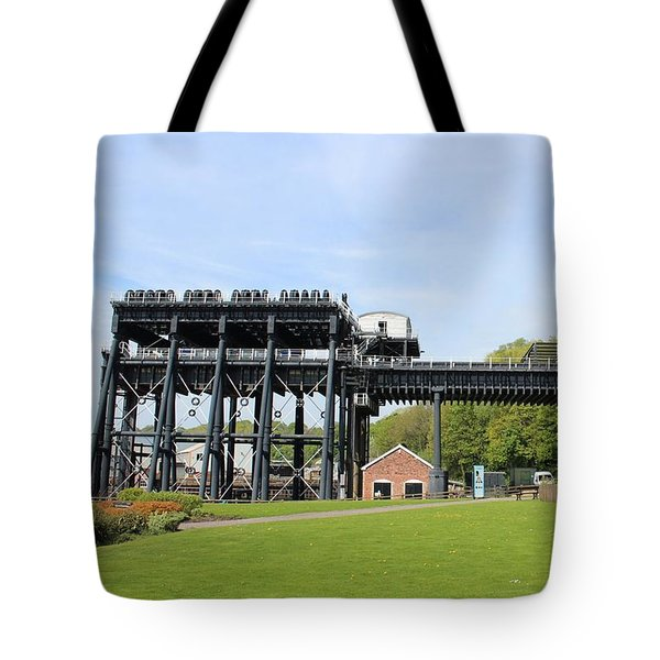 Anderton Boat Lift Tote Bag