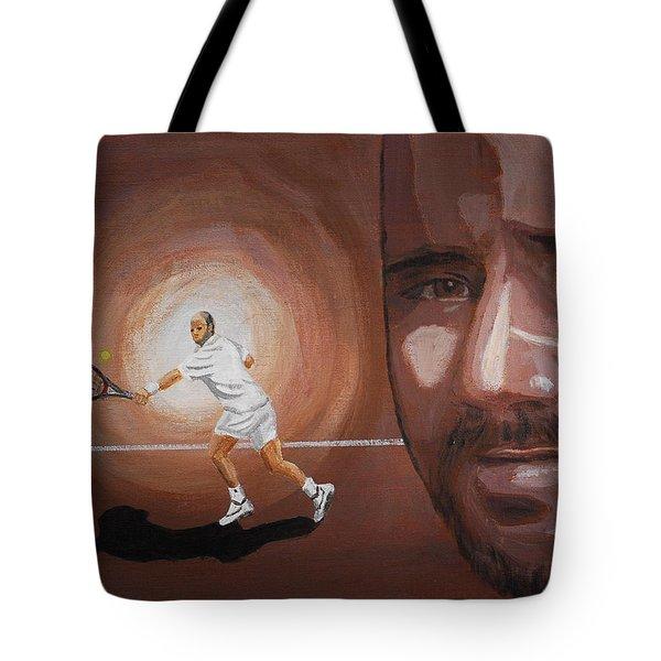 Andre Agassi Tote Bag