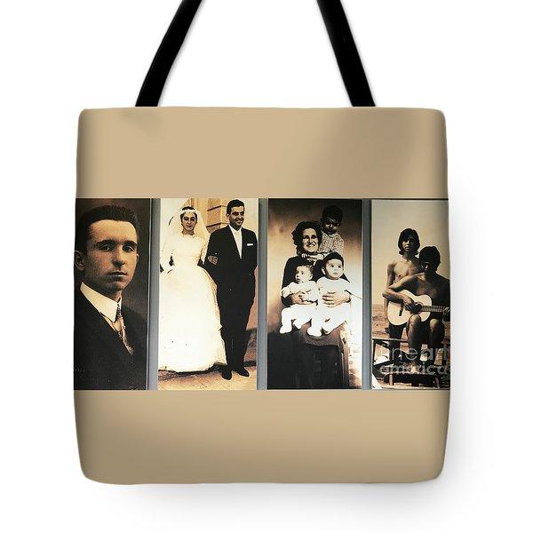 Andrea Bocelli Family Tote Bag