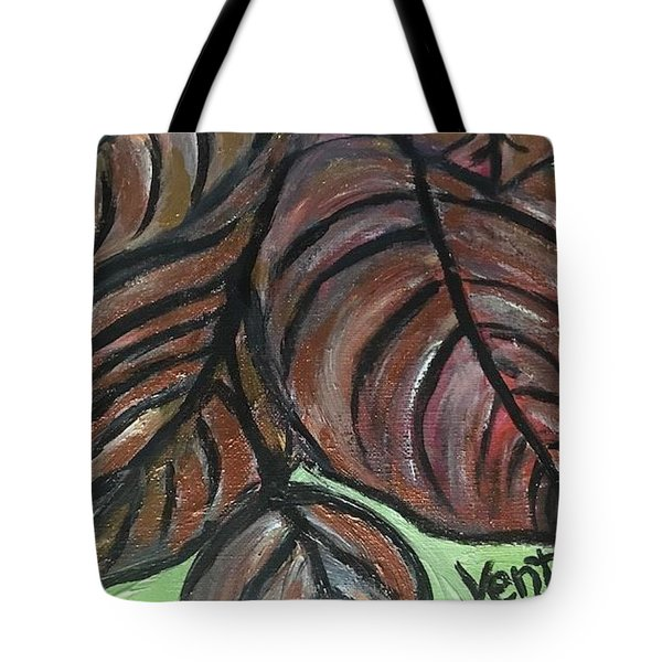 Andrea's Leaves - Fragments Of A  Dream Tote Bag