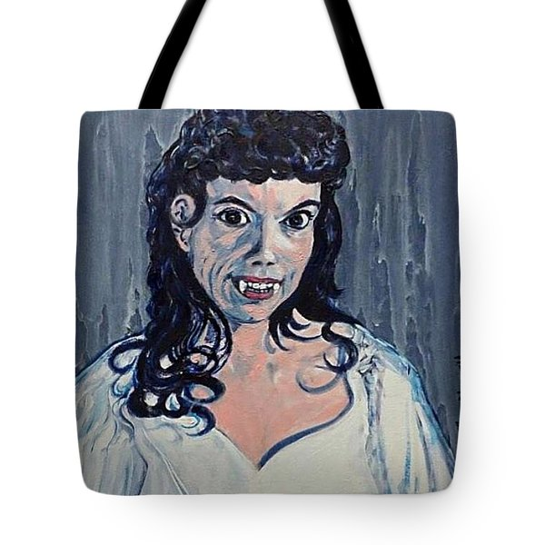 Andree Melly As Gina In The Brides Of Dracula  Tote Bag