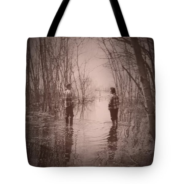 Andrew And Sarah Tote Bag