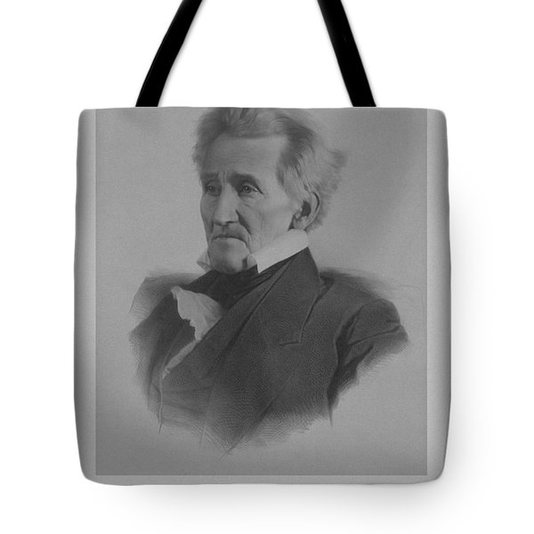 Andrew Jackson Tote Bag