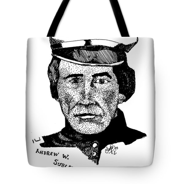 Andrew Sublette Tote Bag