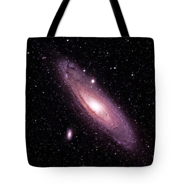 M31 Andromeda Galaxy Tote Bag