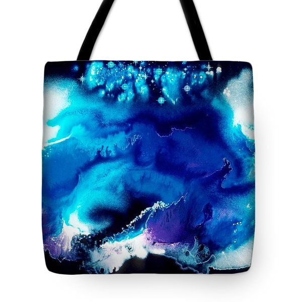 Andromeda Blessing Tote Bag by Lee Pantas