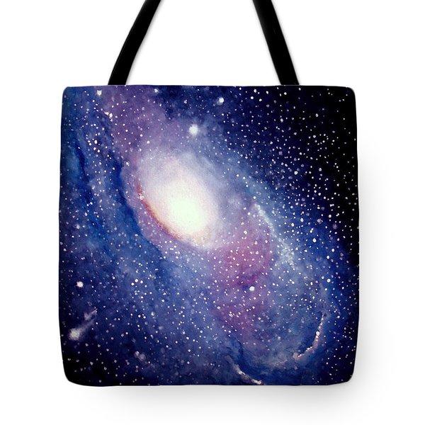 Andromeda Galaxy Tote Bag