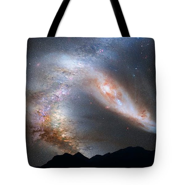 Andromeda-galaxy Tote Bag