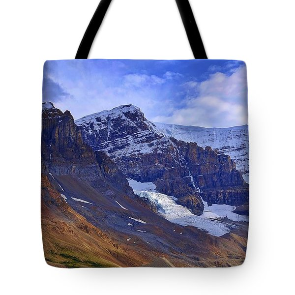 Mount Andromeda Tote Bag