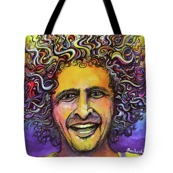 Andy Frasco Tote Bag by David Sockrider