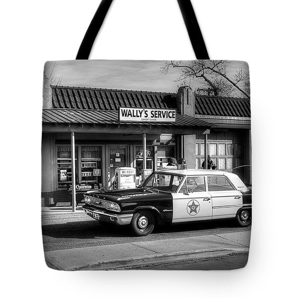 Andy Griffith And Mayberry Tote Bag