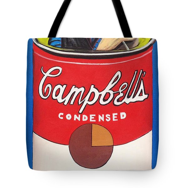 Andy Soup Tote Bag