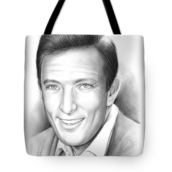 Andy Williams Tote Bag