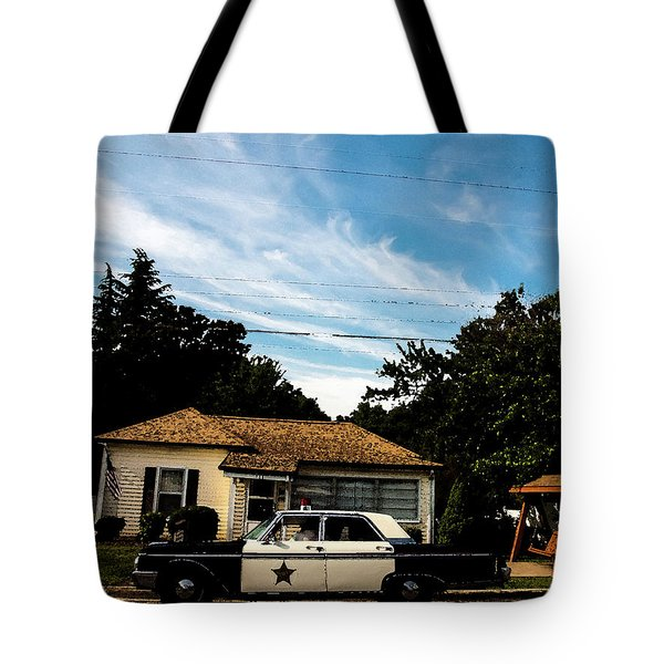 Tote Bag featuring the photograph Andy's Home by Randy Sylvia