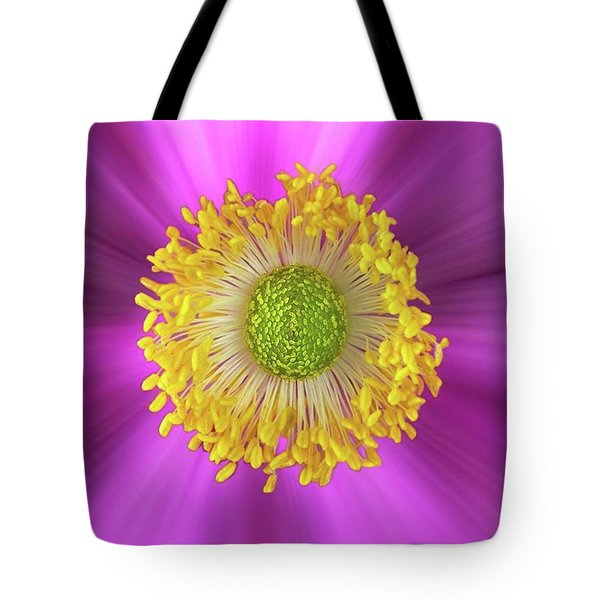 Anemone Hupehensis 'hadspen Tote Bag by John Edwards
