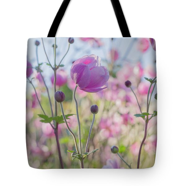 Anemone Softness  Tote Bag