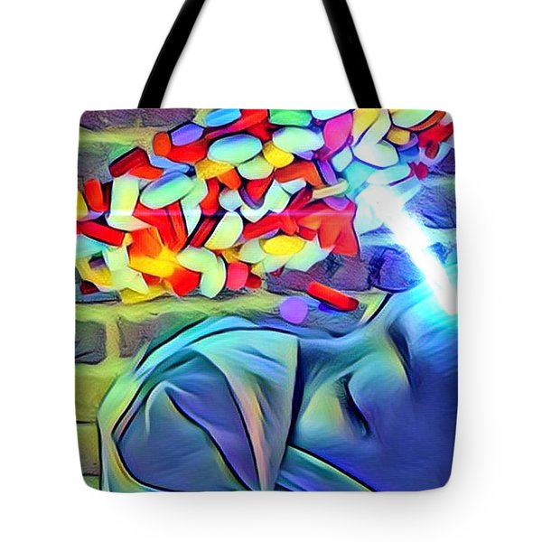 Anesthetized  Tote Bag