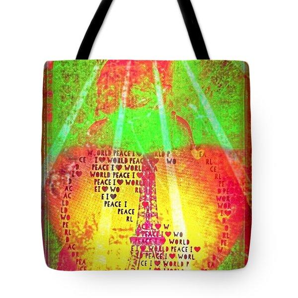 Ange De Paix Mondiale Tote Bag