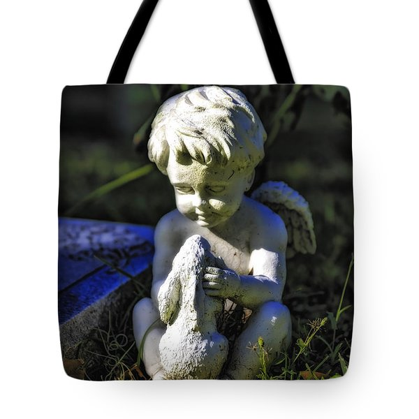 Angel 001 In Hdr Tote Bag