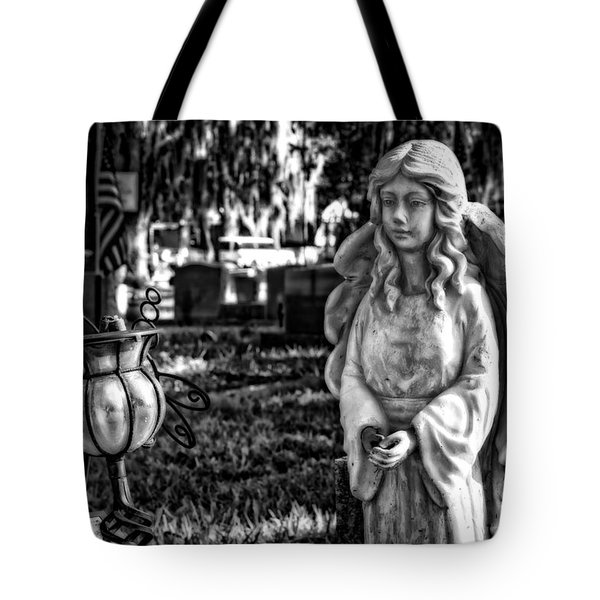 Angel 002 Tote Bag by Michael White