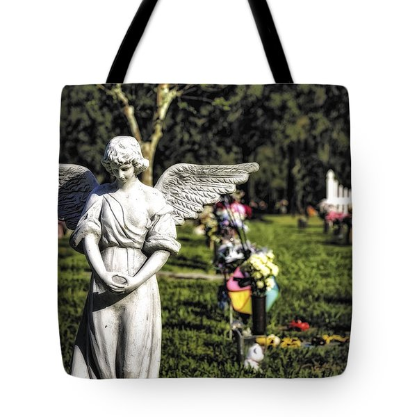 Angel 004 Tote Bag by Michael White